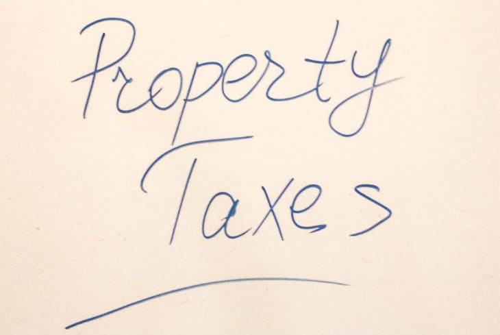 property taxes on shed
