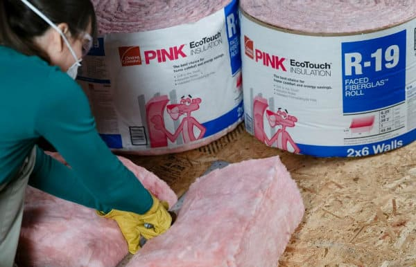 shed fiberglass insulation