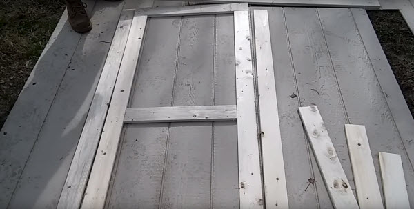 Basic Double Doors For Your Shed Project