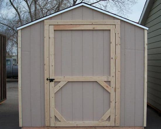 Build A Shed Door