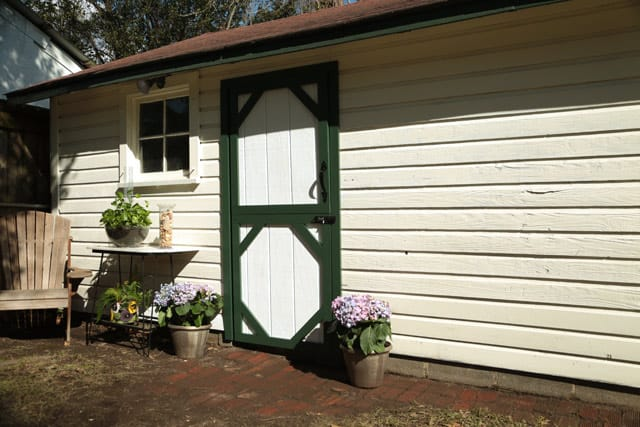 Closed Dutch Style Shed Door