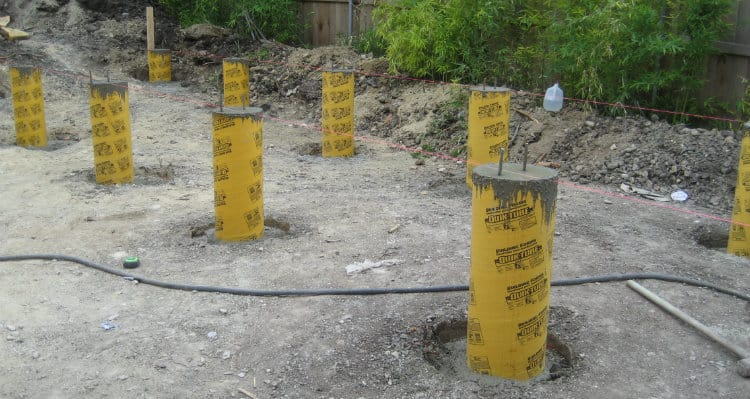 Concrete Piers foundation