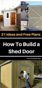 How To Build Shed Door