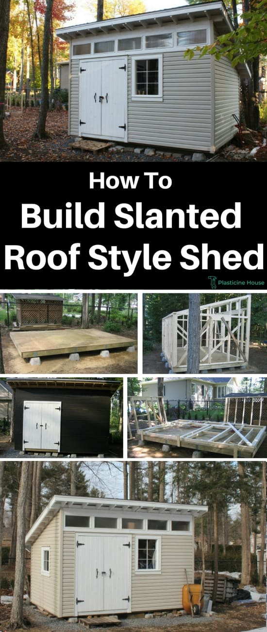 How-To-Build-Slanted-Roof-Shed