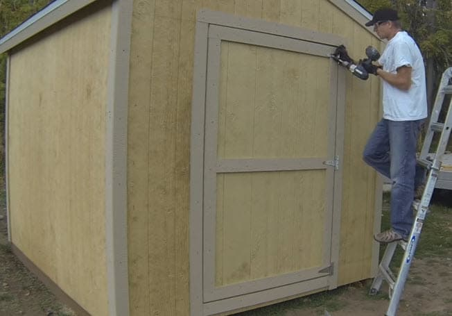 Shed Door Building