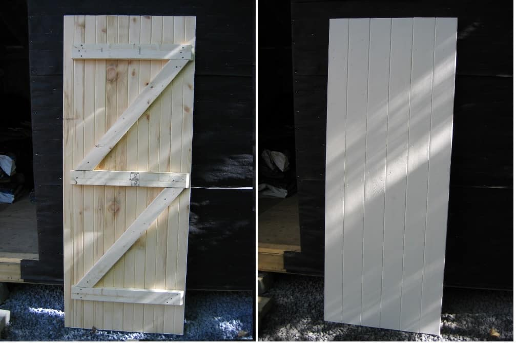 building shed doors