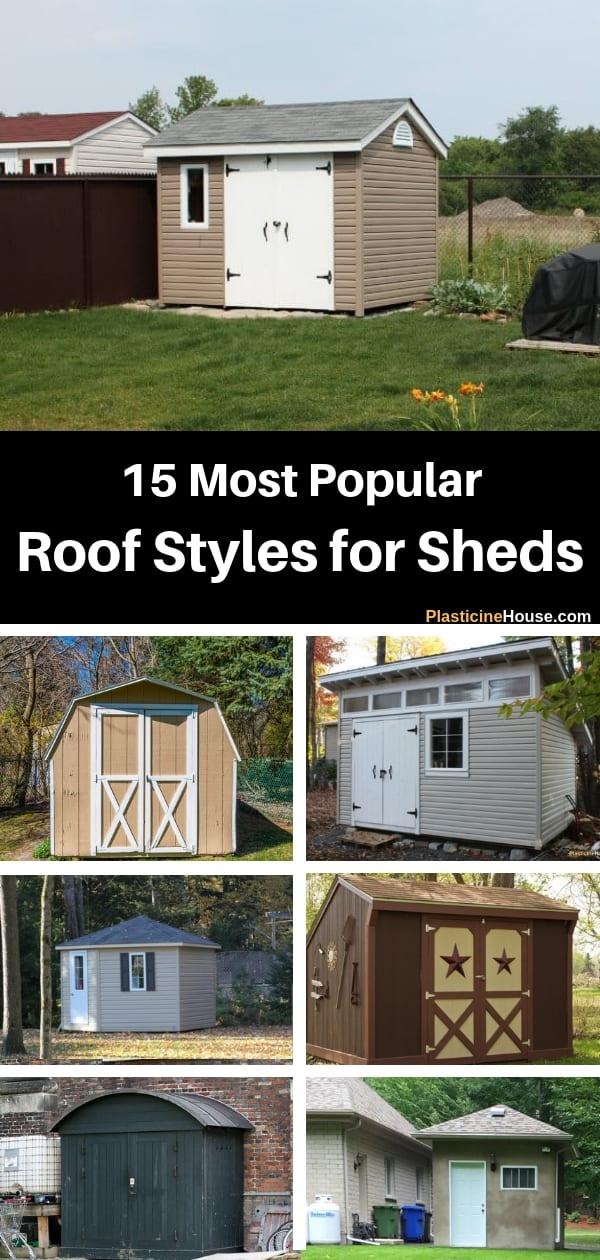 Popular Shed Roof Styles