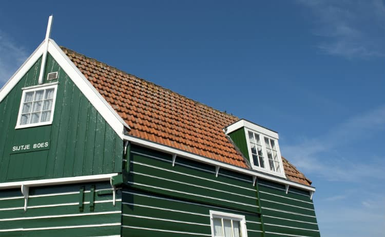 Roof with Dormer