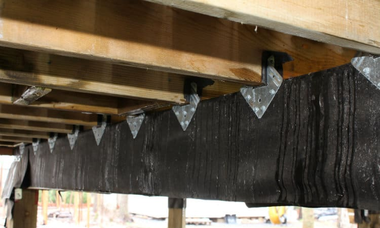 Joists to beam connection