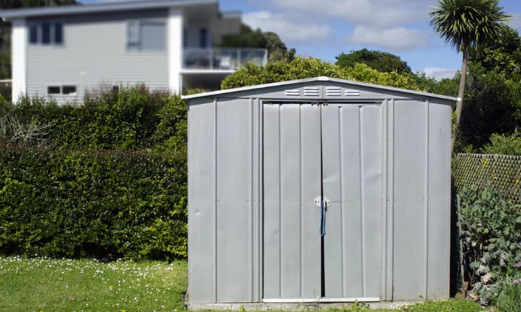 How to Secure a Metal Shed