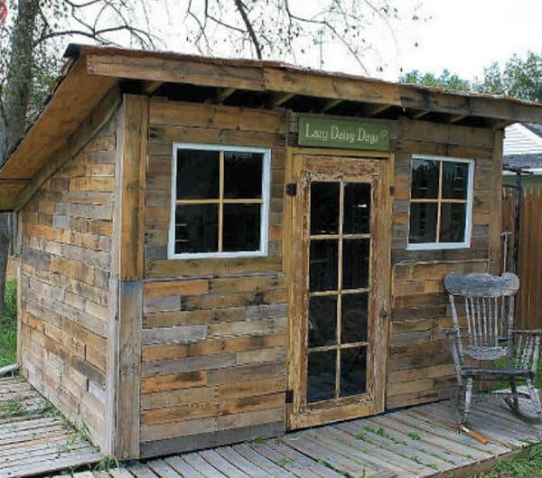 26 Free Pallet Shed Barn Cabin And