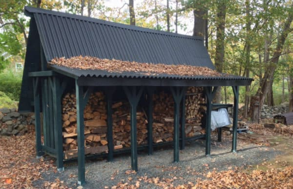 Awesome Firewood Storage Shed