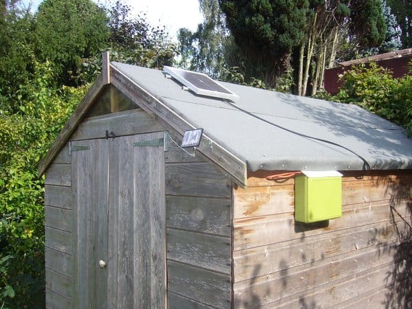 Diy Solar Shed Lights