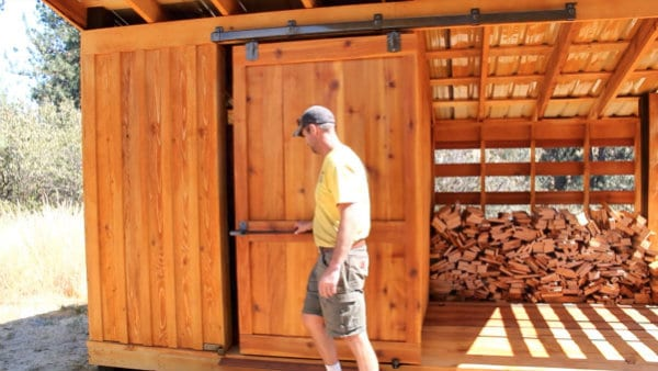 DIY Tool and Woodshed