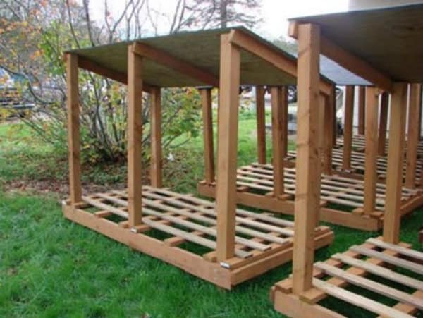 Eight-Step Wood Shed Construction