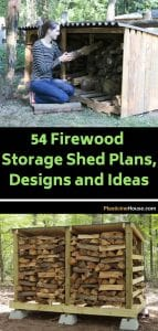 Firewood Storage Shed Plans Designs and Ideas