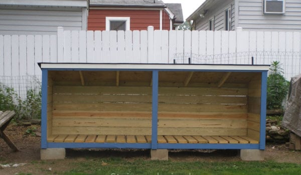 Firewood-Storage Shed