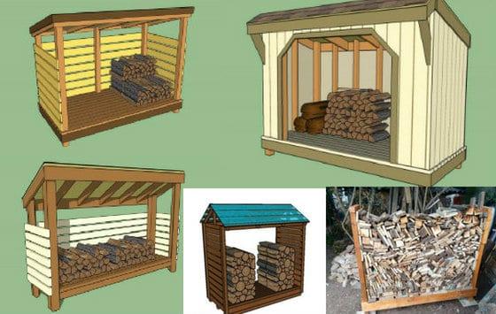 Five Wood Storage Plans