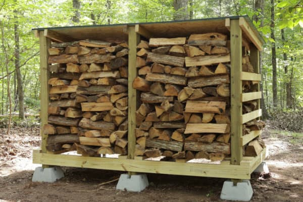 How to Build Firewood Storage Shed