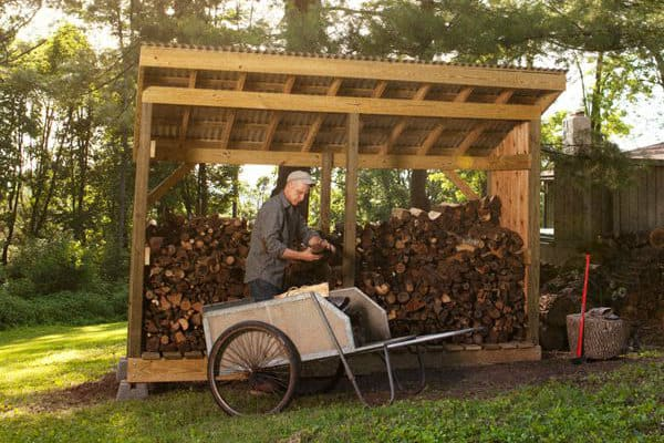 54 Firewood Shed Designs Ideas And
