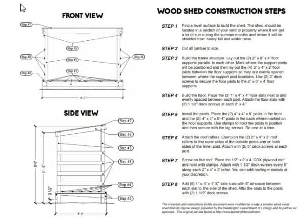 How to Build a WoodShed