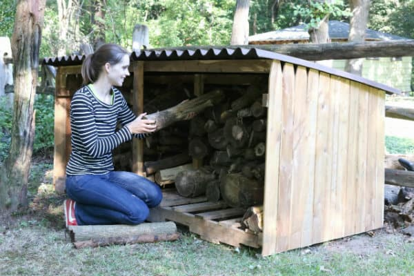 How to Build Outdoor Firewood Storage Shed
