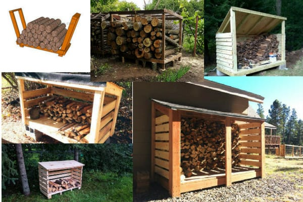 Six Firewood Shed Plans and Ideas