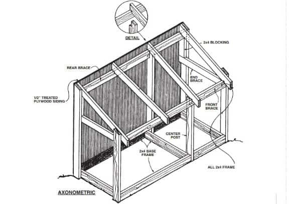 Trash Can and Firewood Storage Unit
