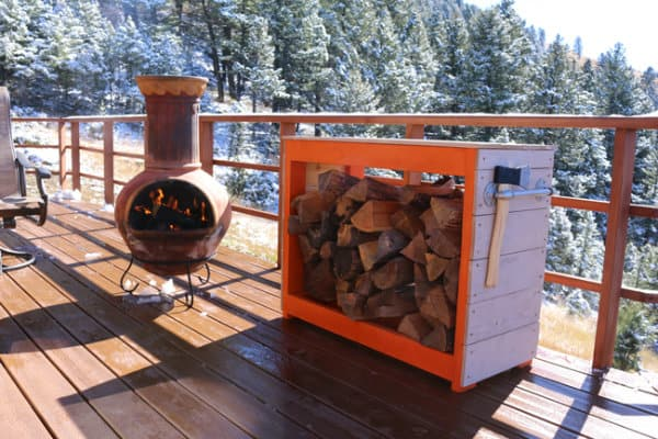 42 Simple Diy Firewood Rack Plans Ideas And Designs