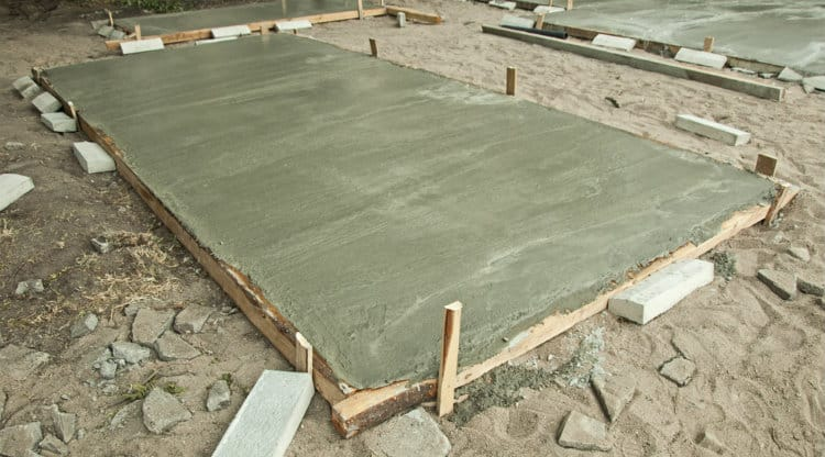 How Much Does A Concrete Slab For Shed