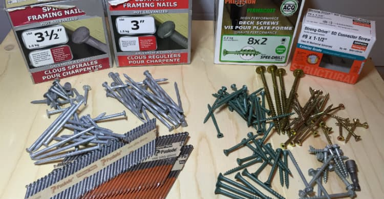 Nails Vs Screws Which Is Better When Building A Shed