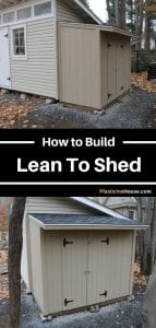 How To Build a Lean To Shed