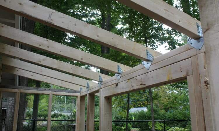 lean to roof framing