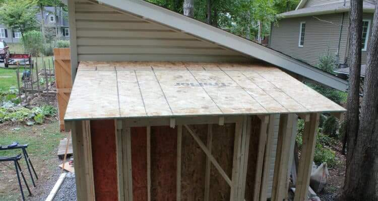 Install Roof Sheathing