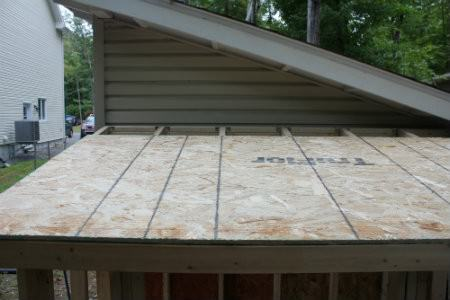 roof sheathing alignment