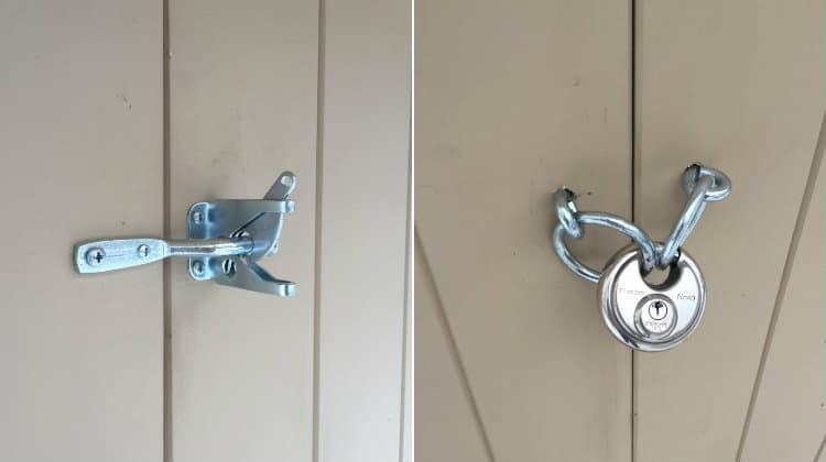 shed door hardware