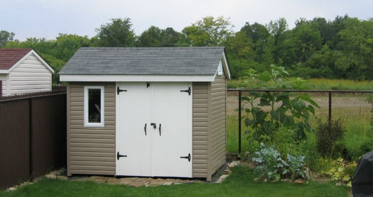Cheap siding for shed