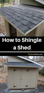 How To Shingle Shed