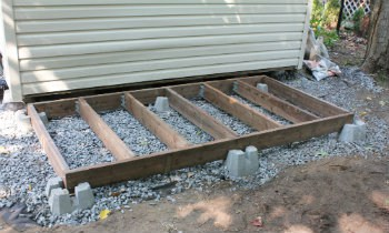 How to Determine Shed Floor Joist Spacing