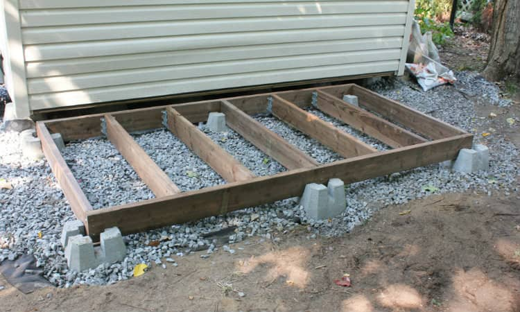 Shed Floor Joist Spacing