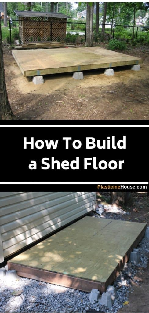 Building Shed Floor