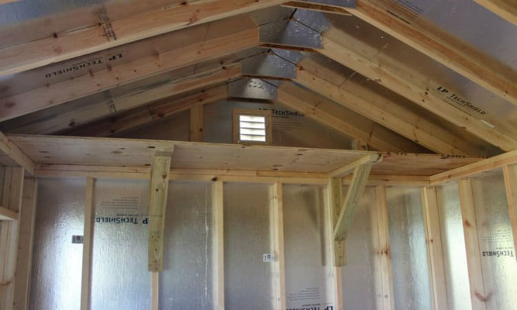 shed ceiling storage