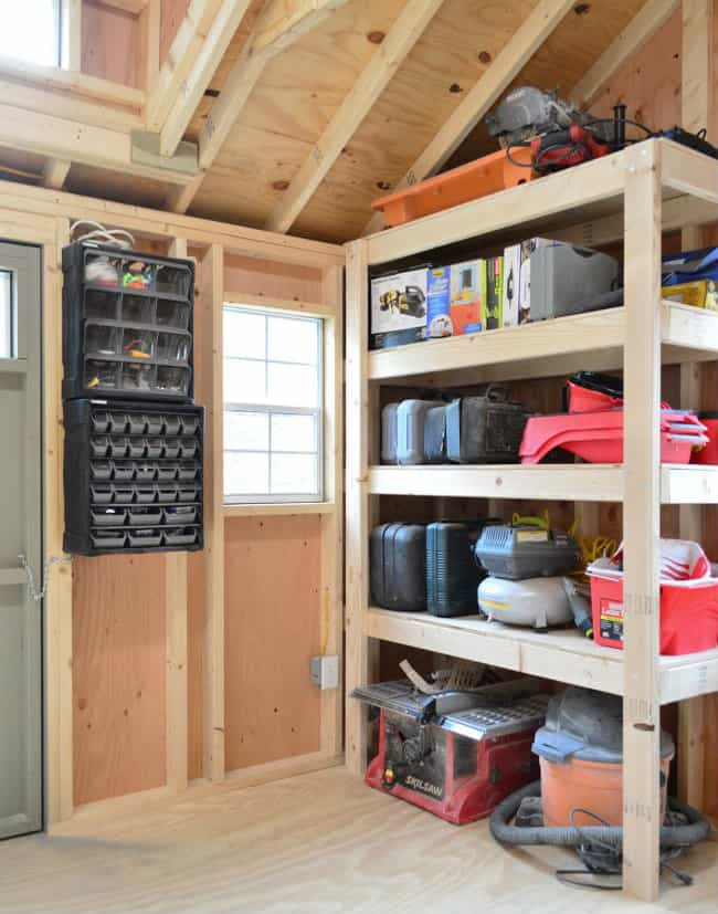 Plans On How To Build Shed Storage Shelves