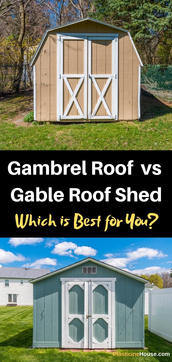 Gambrel Roof vs Gable Roof Shed