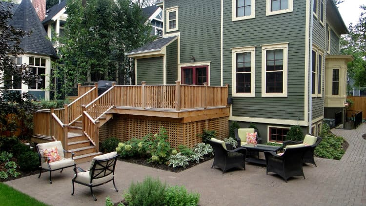 decking garden ideas