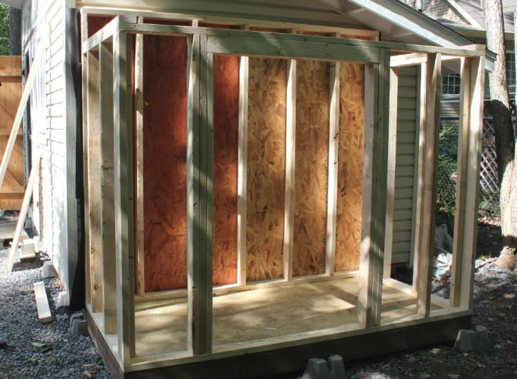 How to Frame a Shed Door Opening