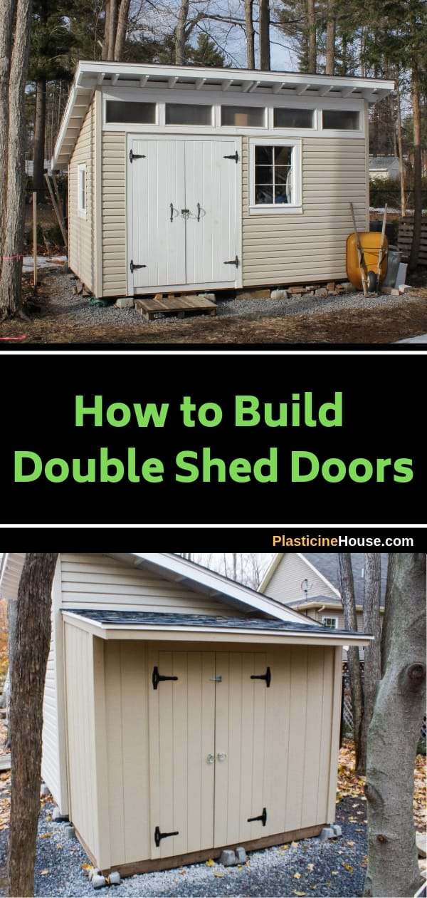 How to Make Double Shed Doors