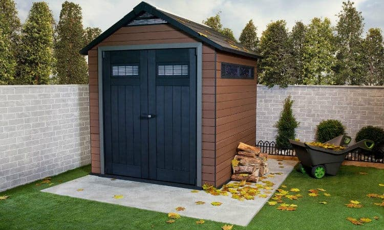 Cheap plastic sheds