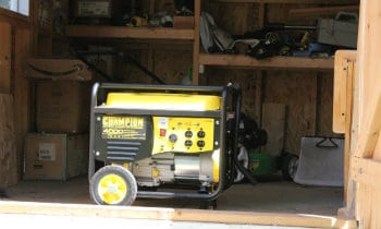 Running Generator in Shed