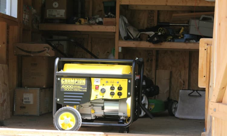 Is It Safe to Run a Generator in a Detached Shed